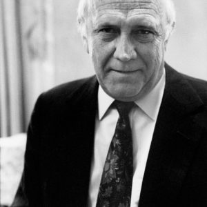 F.W.de Klerk, State President South Africa