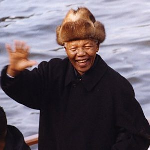 Nelson Mandela, State President South Africa