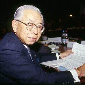 Tadahiro Sekimoto, President NEC, Japan