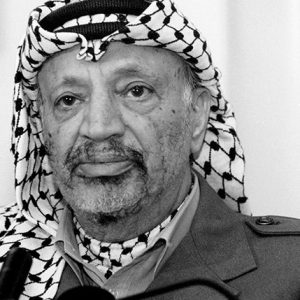 Yasser Arafat, Chairman PLO